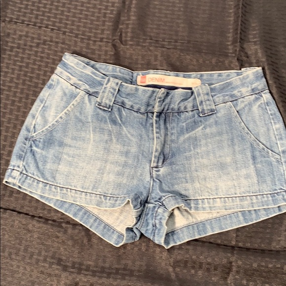 Fox Pants - Fox Denim Jean Shorts W38